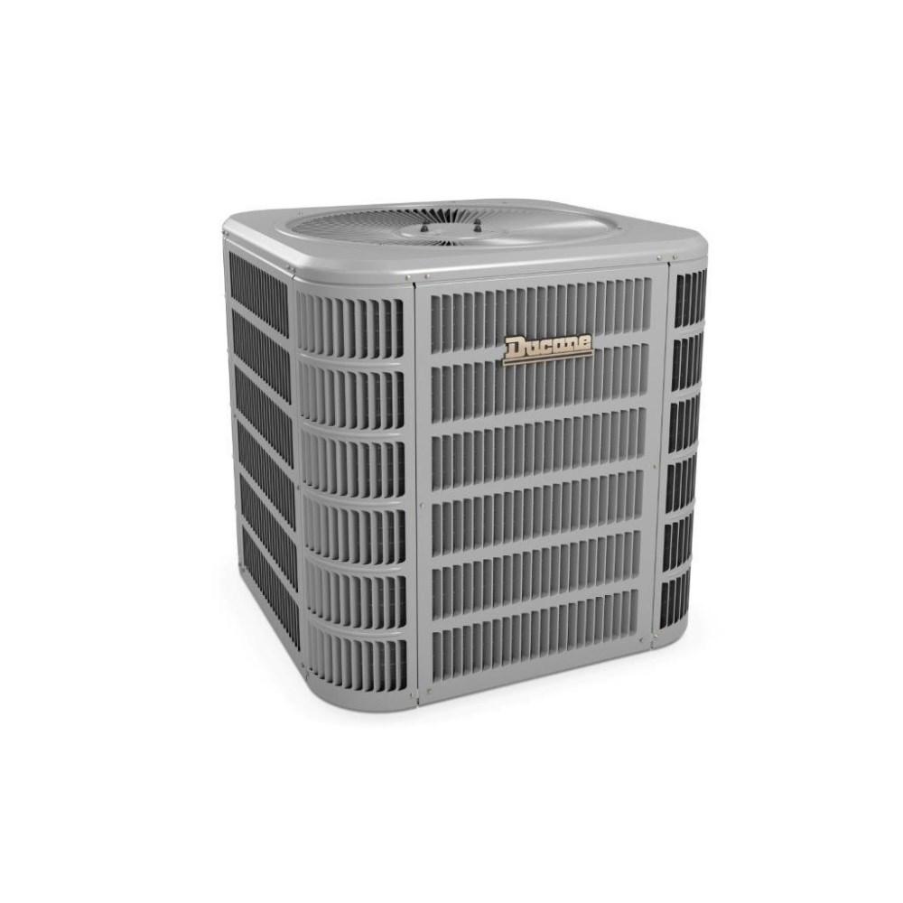 Ducane 4 Ton Split System Air Conditioner 16 Seer Single Stage 208 230 1 Refrigerative Supply Ltd