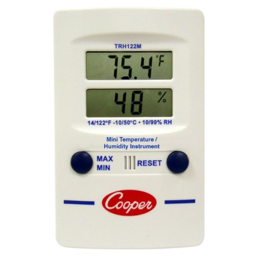 Cooper-Atkins SP120-0-8 Digital Panel Thermometer with Square Solar Powered -58//158/° F Temperature Range