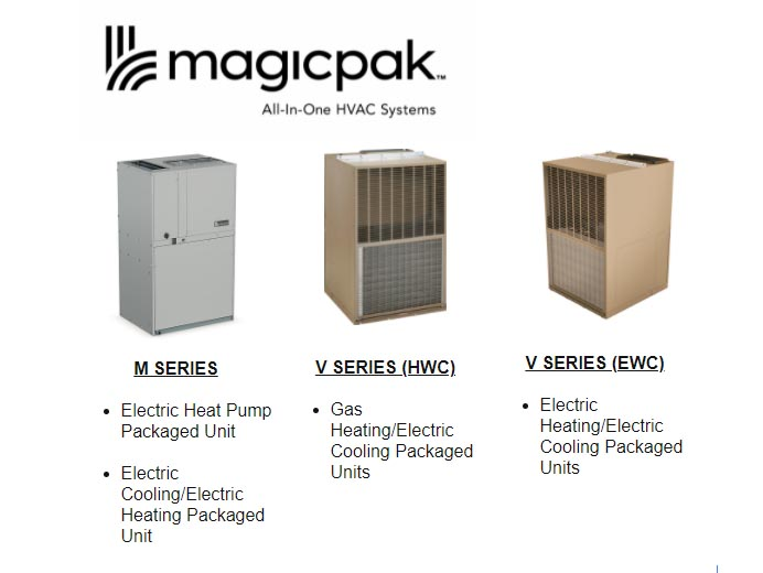 MagicPak All-In-One HVAC Systems